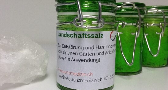 Landschaftssalz - Heilsalz - Salzheilung