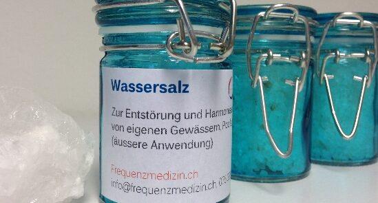 Wassersalz- Heilsalz - Salzheilung