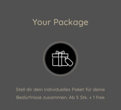 Your Package - individuelles Paket